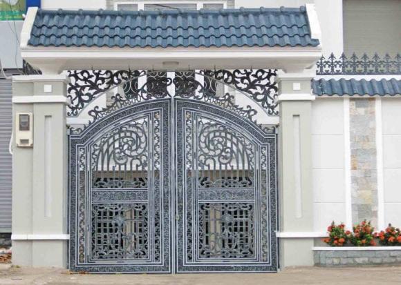 phong thủy, phong thủy cổng nhà, cổng nhà, cổng nhà nên mở ra hay mở vào, cổng nhà mở ra, cổng nhà mở vào , cổng nhà nên mở ra hay mở vào cho hợp phong thủy?