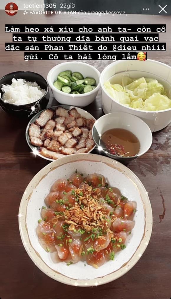 Tóc Tiên, ca sĩ Tóc Tiên, cách bảo quản rau