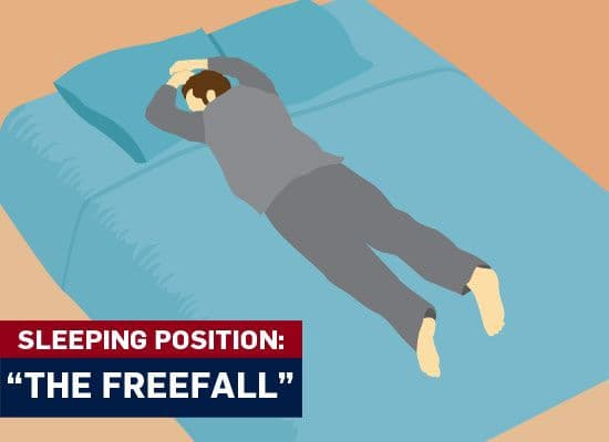tư thế ngủ, đoán tính cách qua tư thế ngủ