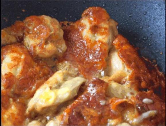 thịt gà chiên, thịt gà phô mai, dạy nấu ăn