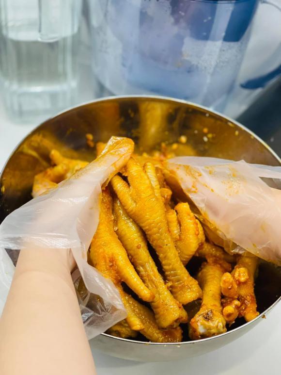 chân gà nướng, món ngon từ chân gà, công thức chân gà nướng