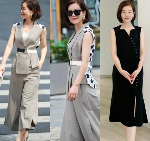 thời trang, thời trang trung niên, tuổi 40