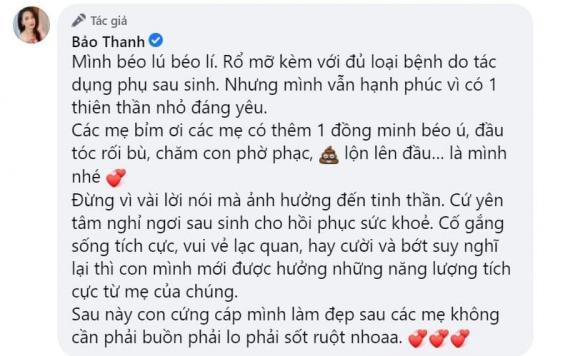Bảo Thanh, diễn viên Bảo Thanh, sao Việt