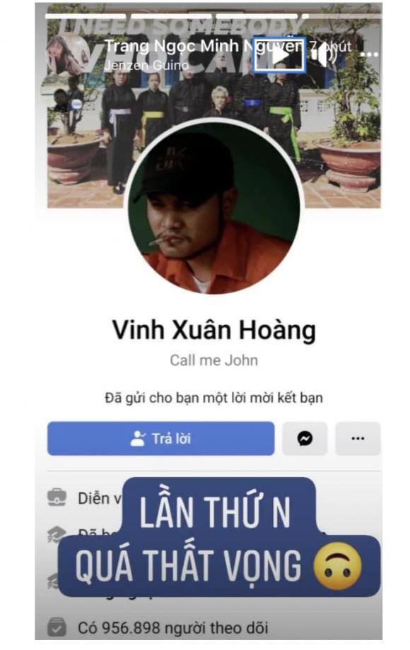 diễn viên Lương minh Trang, sao Việt, vinh râu
