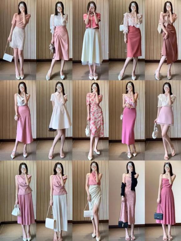 mẫu váy đẹp, thời trang công sở, chọn váy đi làm