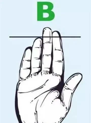 trắc nghiệm, đoán tính cách qua bàn tay, nhìn bàn tay
