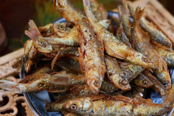 chiên cá, mẹo nấu ăn, dạy nấu ăn, cá nhỏ