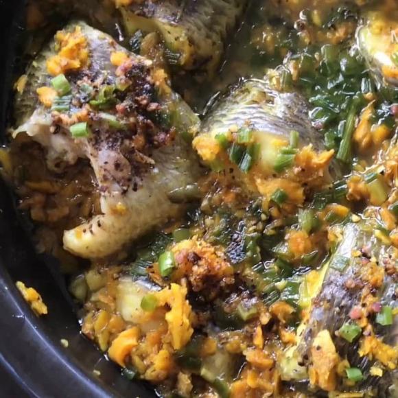 món cá kho nghệ, dạy nấu ăn, món ngon