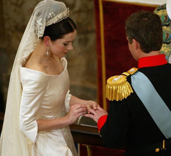 Công nương Mary, Hoàng tử Frederik, công nương đan mạch