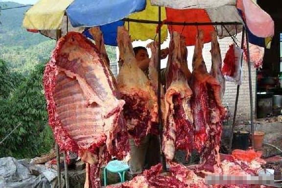 tiết lợn, tiết vịt, huyết gia súc, thịt bò