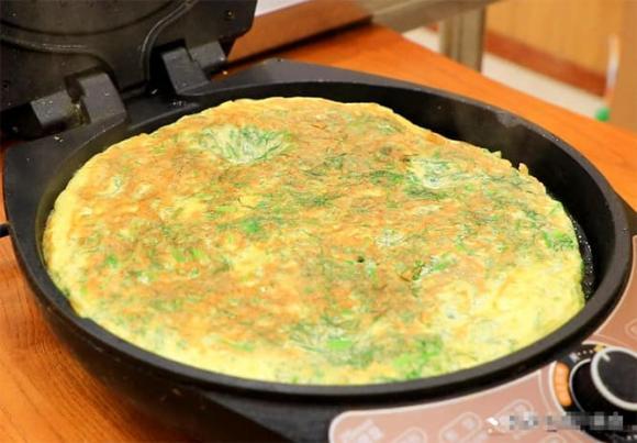 món trứng, trứng tráng, dạy nấu ăn, thì là, trứng thì là