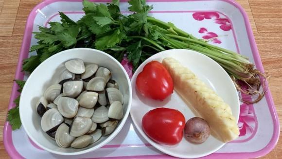 canh nghêu nấu dứa, dạy nấu ăn, món ngon