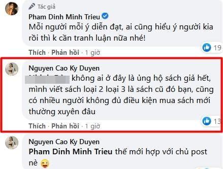 Kỳ Duyên, Minh Triệu, siêu mẫu, quảng cáo facebook, bán sách giả, sao Việt,