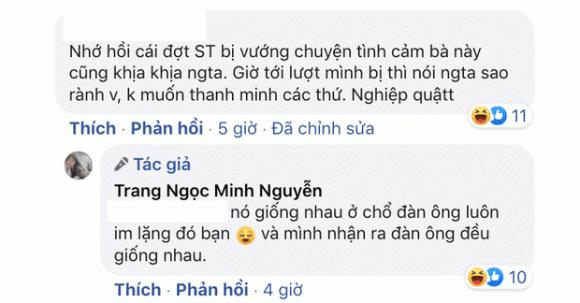 Lương Minh Trang, Vinh Râu, Sao Việt