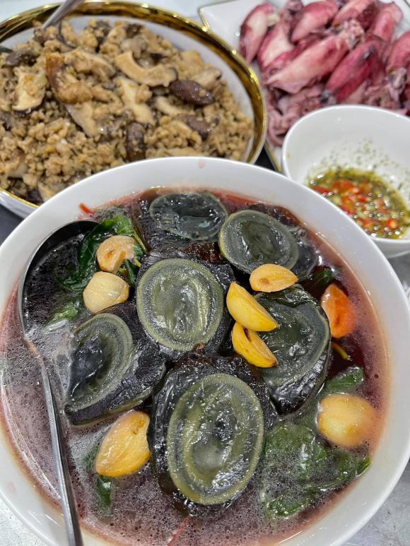Lưu Đê Ly, sao Việt nấu ăn, diễn viên Lưu Đê Ly