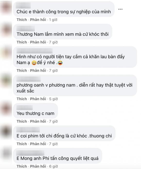 Hương vị tình thân, Phương Oanh, sao Việt, phim Việt