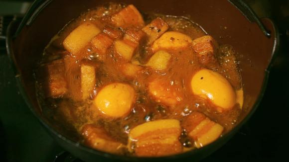 thịt kho trứng, công thức thịt kho trứng, thịt kho