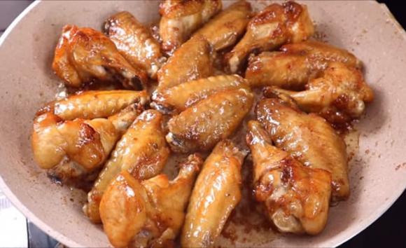 cánh gà chiên nước mắm, công thức cánh gà chiên nước mắm, món ngon từ thịt gà