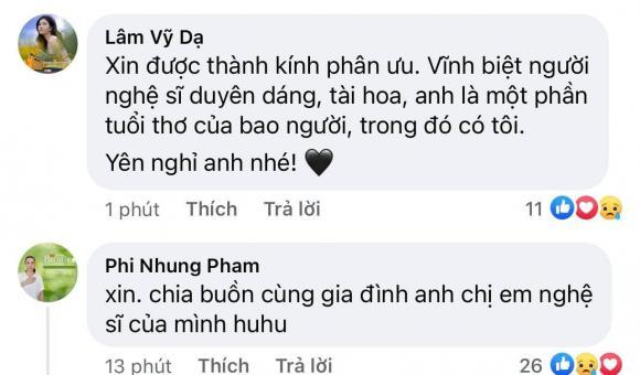 Nghệ sĩ Giang Còi, Sao Việt, Pha Lê, Lâm Vỹ Dạ, Phi Nhung