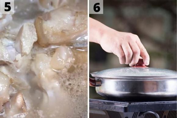 chân giò, chân giò giả cầy, thịt chân giò giả cầy, cách làm thịt chân giò giả cầy, món ăn, móng giò