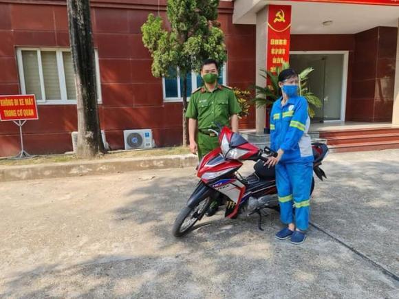 công nhân môi trường, xe máy, cướp xe máy, Hà Nội