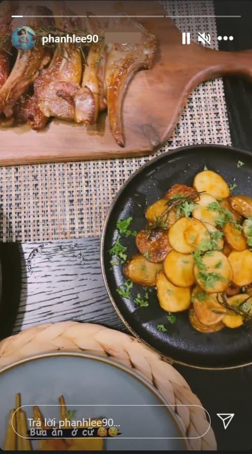 bữa cơm ở cữ của Phanh Lee, diễn viên Phanh Lee,  phu nhân tập đoàn nghìn tỷ