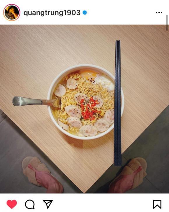 Quang Trung, diễn viên hài Quang Trung, sao Việt nấu ăn
