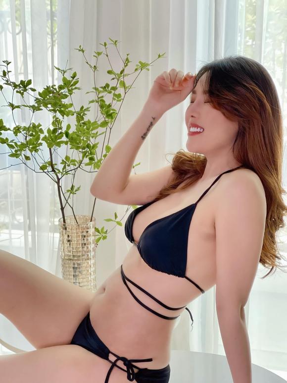 Quế Vân, Quế Vân bikini, Quế Vân eo thon
