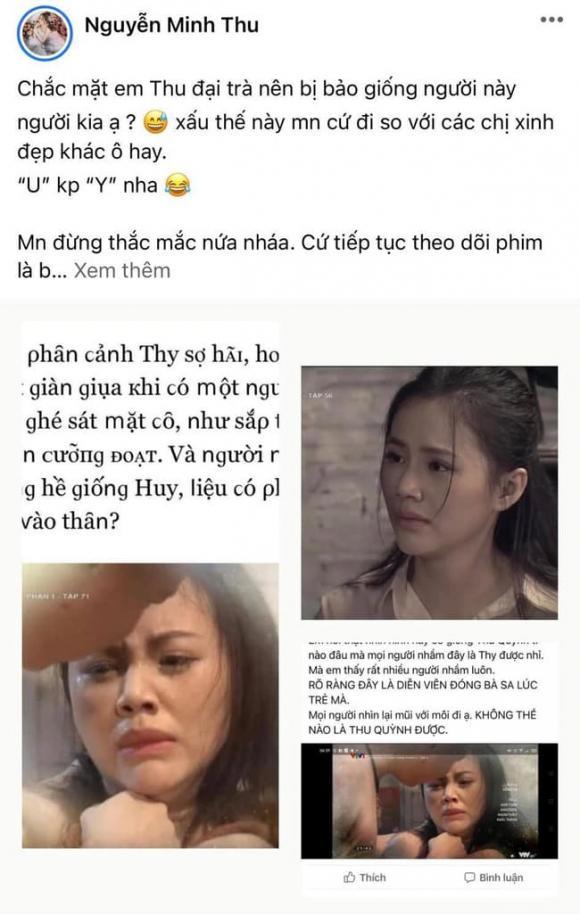 Hương vị tình thân phần 2, Thy, Thu Quỳnh, mẹ Thy
