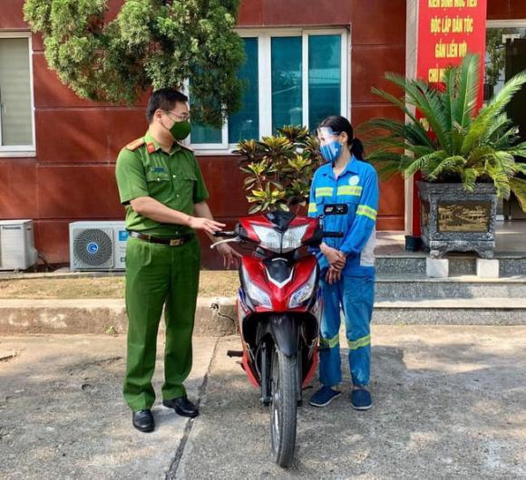 cướp xe máy, công nhân môi trường, Hà Nội, Nam Từ Liêm