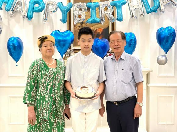 Mai Thu Huyền, con trai Mai Thu Huyền, diễn viên Mai Thu Huyền