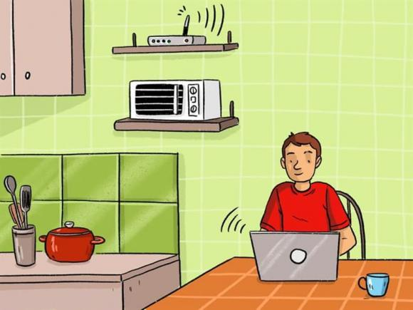 sóng wifi, thiết bị wifi, đồ vật làm chậm sóng wifi , kết nối wifi