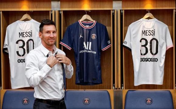 Messi, Barca, PSG, bóng đá