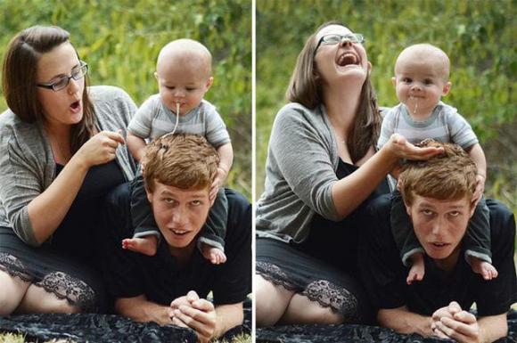 khoảnh khắc hài hước, ảnh trẻ em, ảnh gia đình