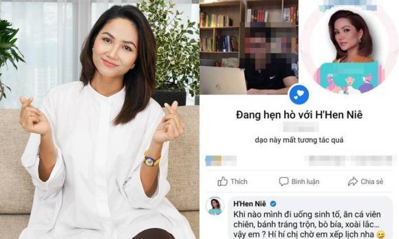 H'hen Niê, sao việt, người đẹp, showbiz Việt, H'Hen Niê làm tình nguyện