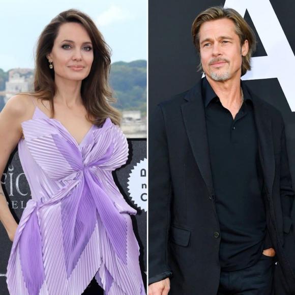 Angelina Jolie, sao ly hôn, Brad Pitt, sao hollywood