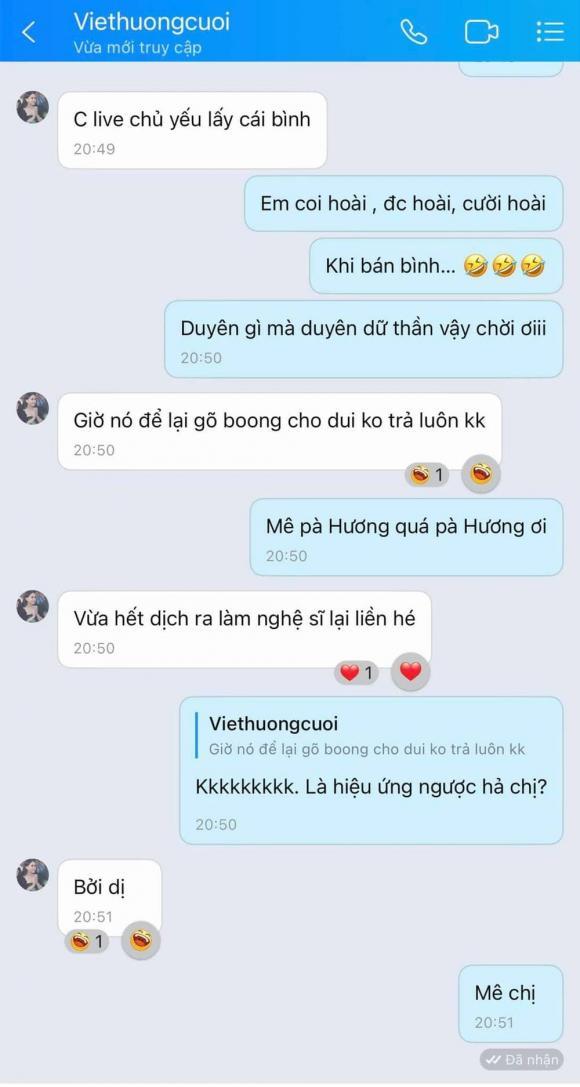 Việt Hương, Sao Việt, Nữ nghệ sĩ, Nam Thư
