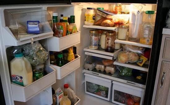 tủ lạnh, vệ sinh, an toàn thực phẩm, sử dụng tủ lạnh