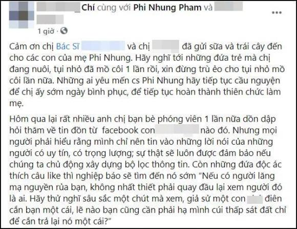 Phi Nhung, Phi Nhung nhiễm covid-19, Sao Việt