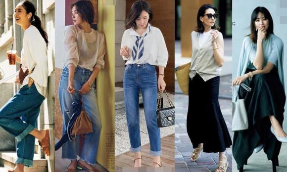 quần ống rộng, thời trang mùa thu