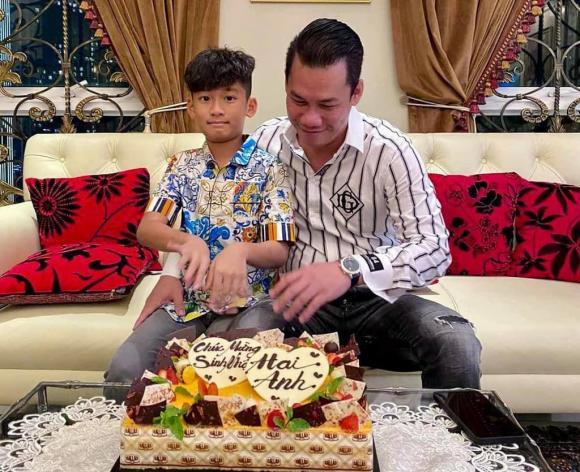 Doanh nhân Đức Huy, Con trai riêng, Sao Việt, Lệ Quyên
