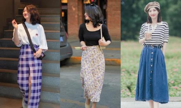 thời trang đẹp, thời trang, quần ống rộng cho cô nàng thấp bé