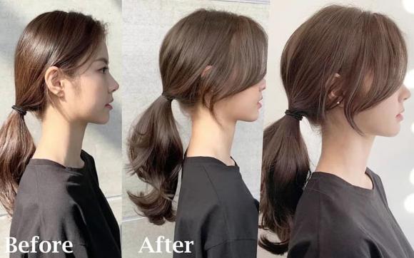 chọn kiểu tóc đẹp, kiểu tóc hàn quốc, kiểu tóc cho khuôn mặt nhỏ, mặt nhỏ để tóc nào