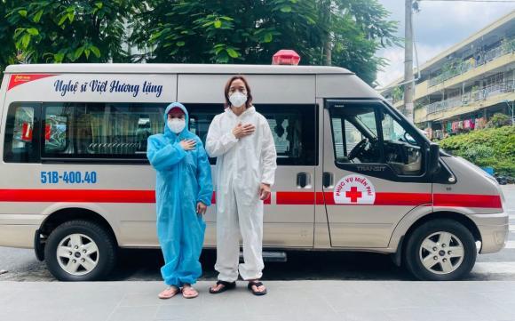 Việt Hương, sao Việt, từ thiện
