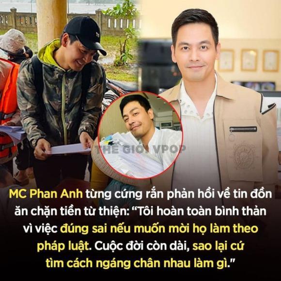 MC Phan Anh, sao Việt