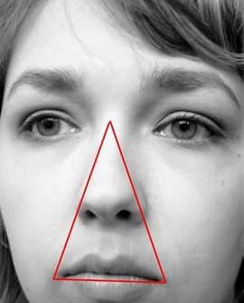ngoáy mũi, tam giác nguy hiểm, sức khỏe trẻ em