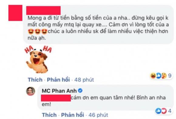 MC Phan Anh, ca si Thủy Tiên, sao Việt