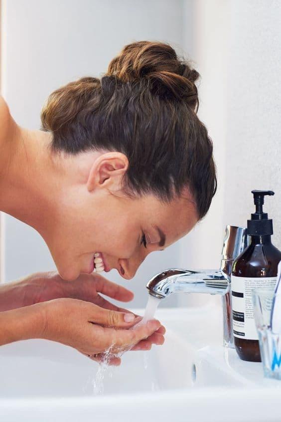 rửa mặt, chăm sóc da, sai lầm khi rửa mặt