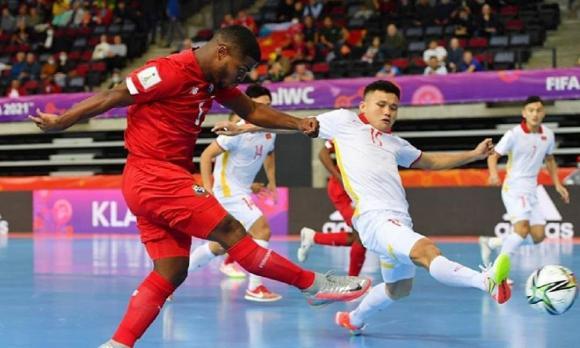 vòng 1/8 World Cup futsal 2021, futsal việt nam, Nga