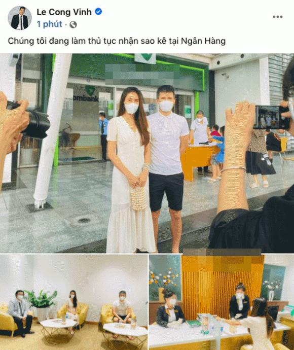 Thủy Tiên, Công Vinh, Sao Việt, sao kê, mẹ thủy tiên, từ thiện